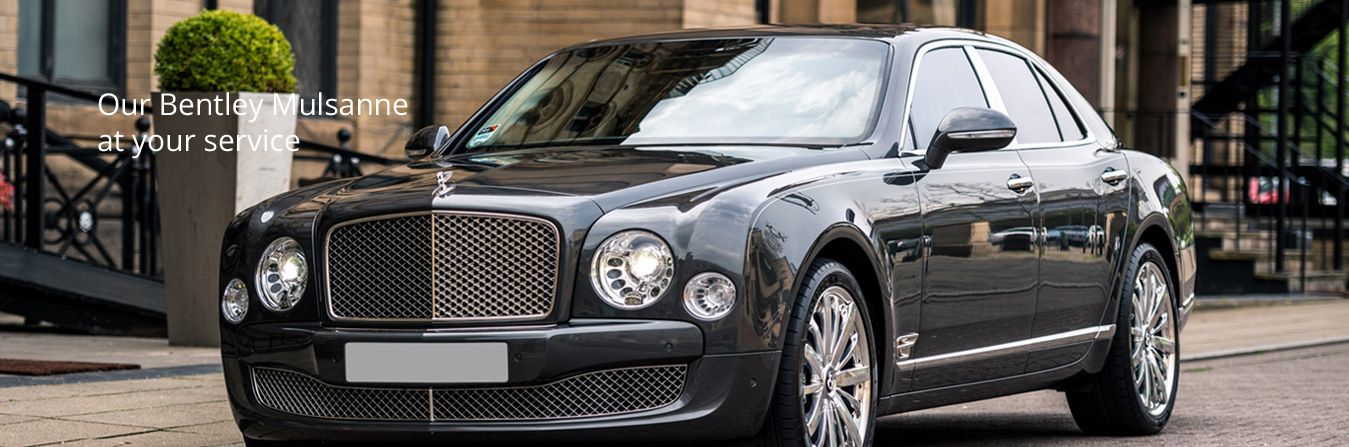 Bentley Mulsanne chauffeur car